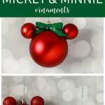 Easy Diy Mickey Mouse Ornament That S What Che Said