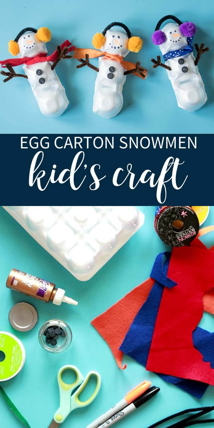 Easy Craft Ideas to do with your kids this winter
