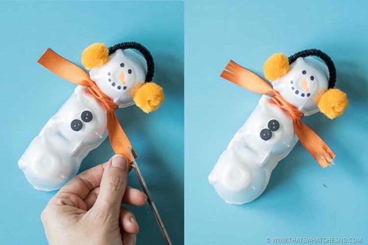 Easy Winter Kids Craft Idea