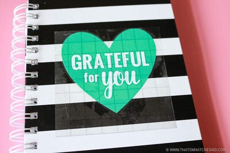 Handmade Gift Idea with a Gratitude Journal