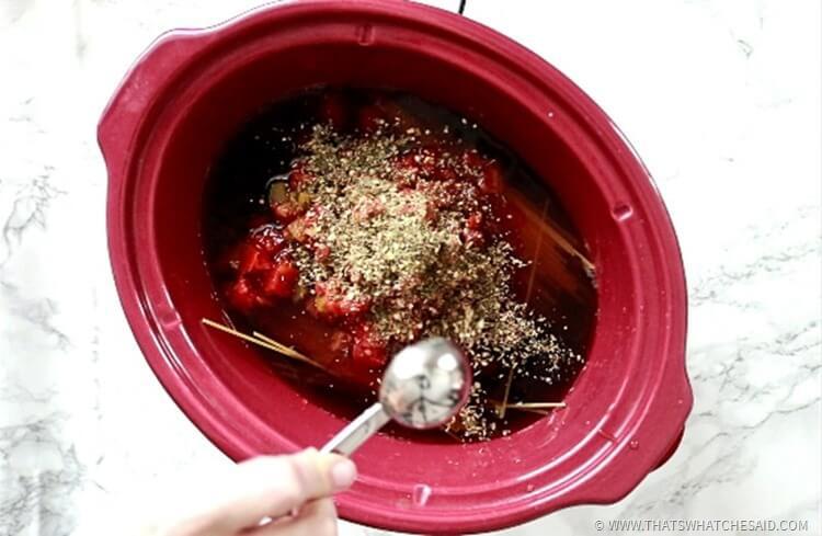 Slowcooker Spaghetti & Meatballs Recipe
