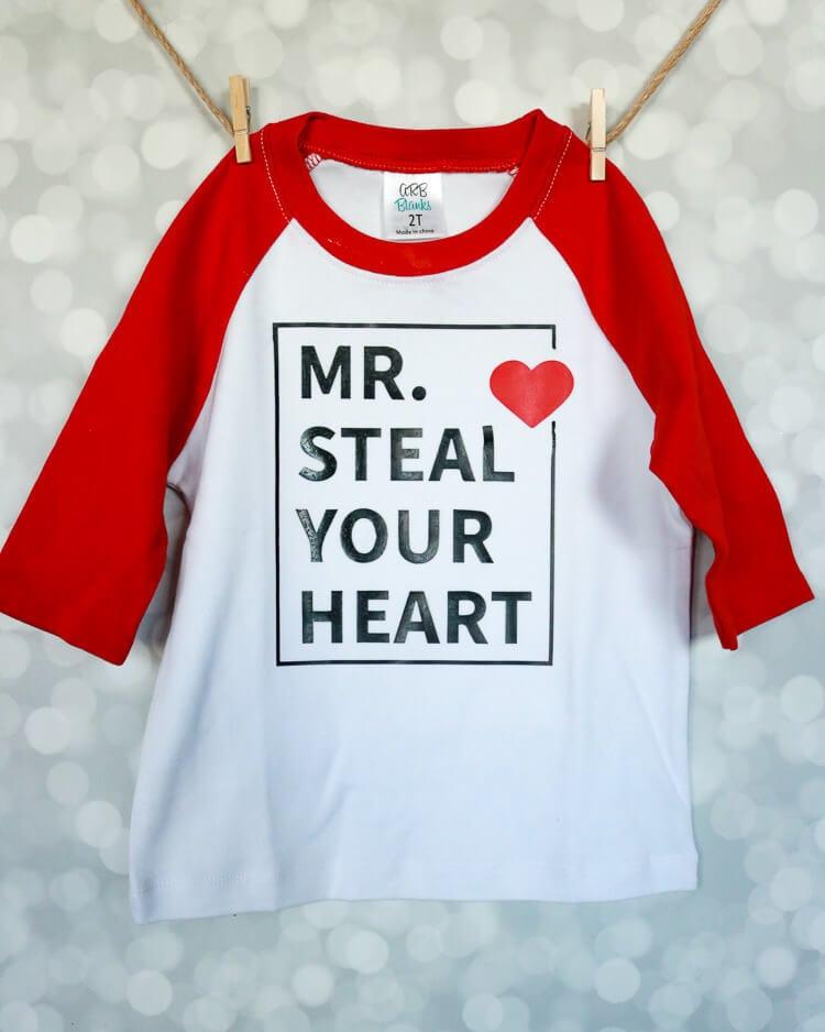 Valentine Shirt Design Free Cut File