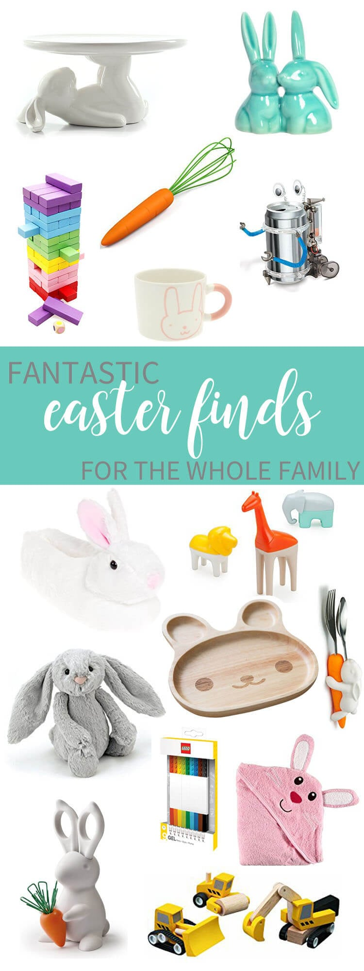 Easter Basket Fillers for the Whole Family