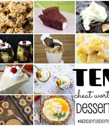 Cheat Worthy Desserts