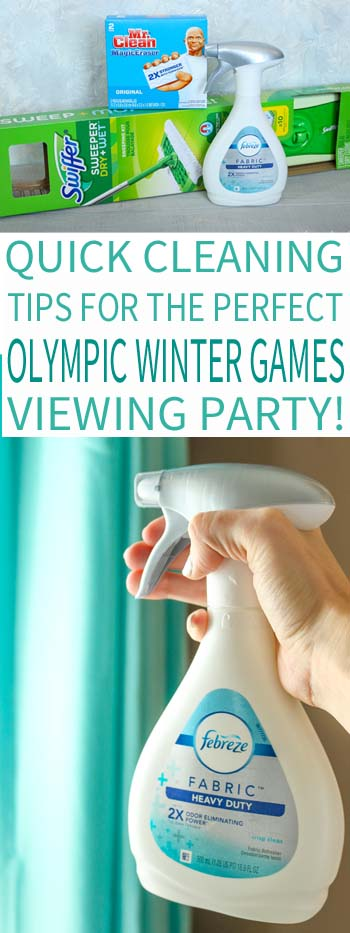 Colored Plates Make Great Winter Olympic Games Decor
