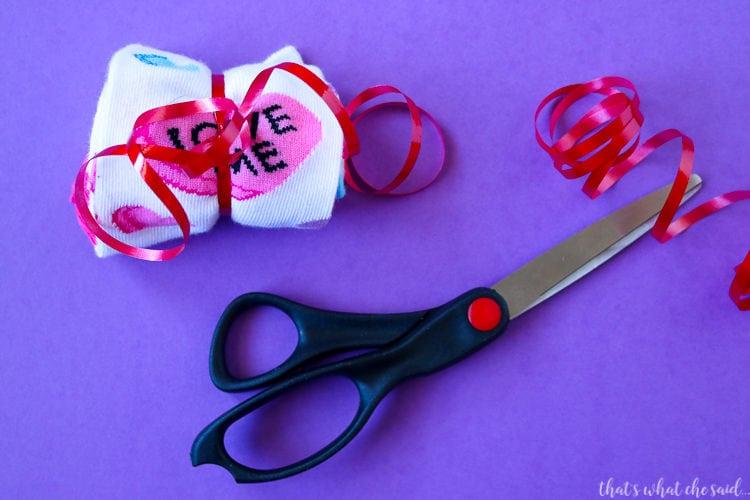 Rock My Socks Off Valentine With Free Printable Tag
