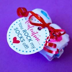 Rock My Socks Off Valentine