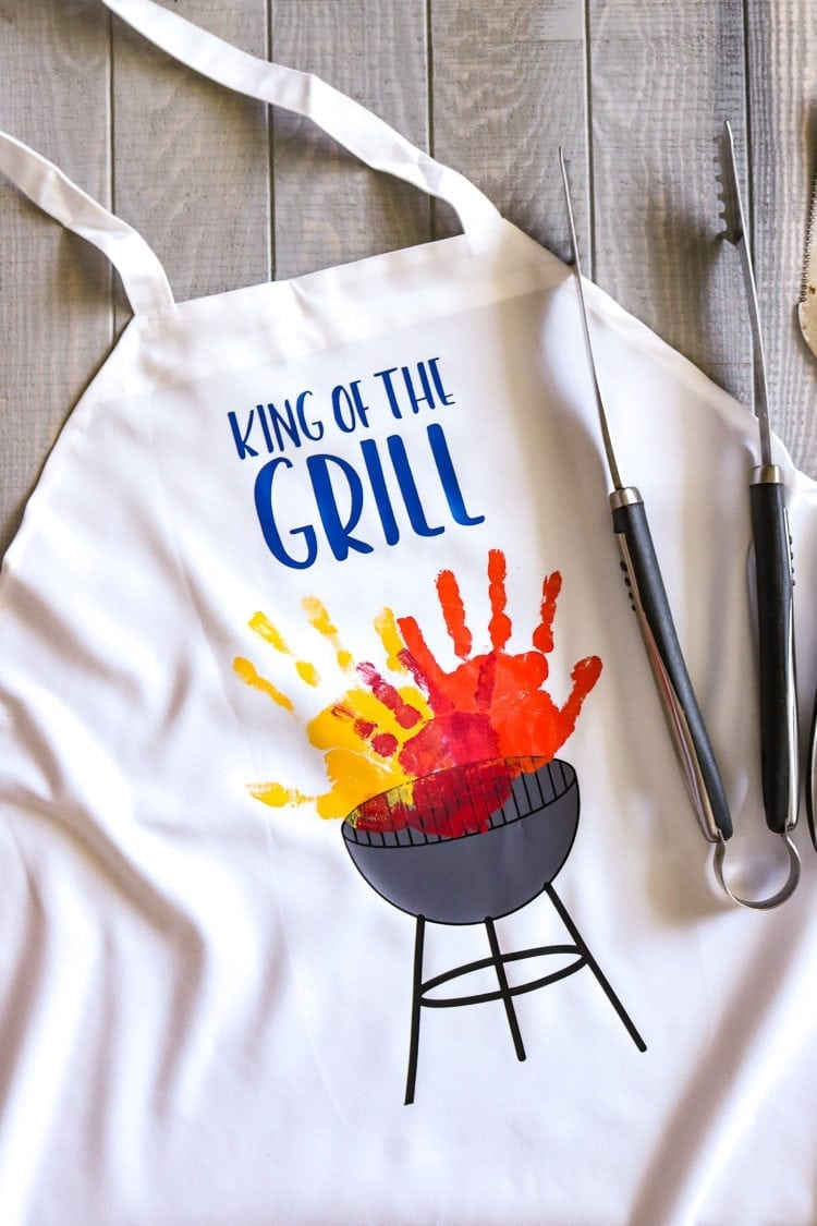 Men's apron with Grill