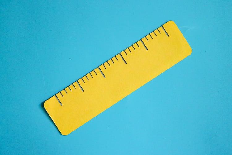 Paper Ruler Cut Out