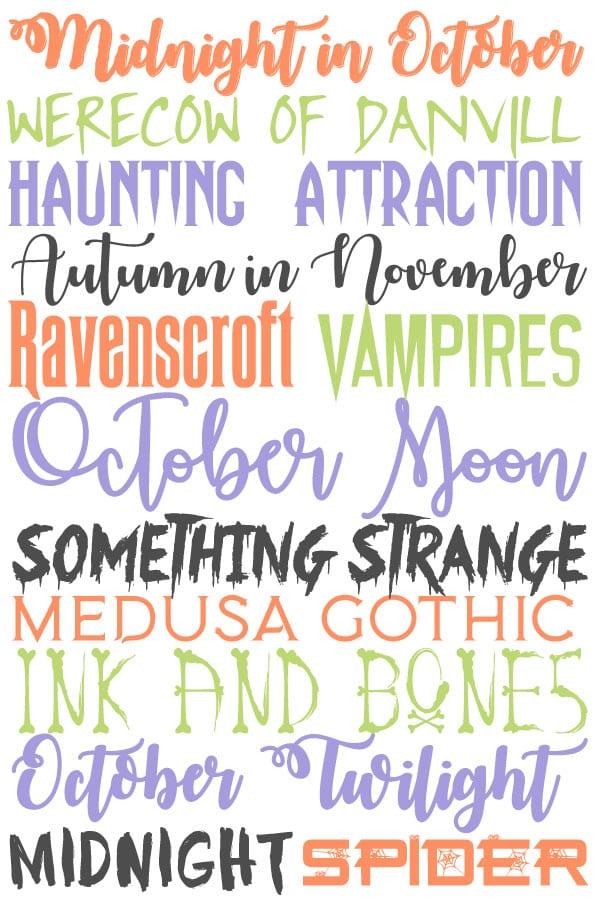 free halloween fonts # 6