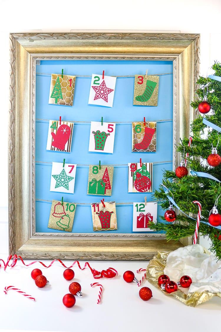 Easy DIY RAOK advent Calendar