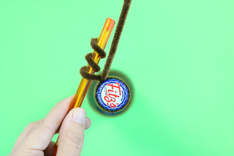 Curl Pipe cleaner around a pen