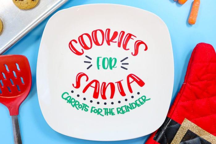 DIY Cookies for Santa Carrots for the Reindeer Plate