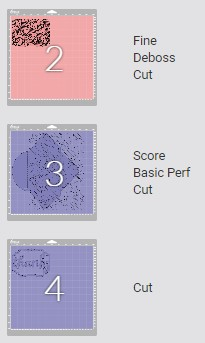 Screenshot of Cricut Design Space showing you the order of tools