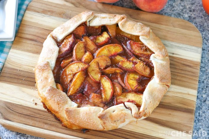 baked galette horizontal