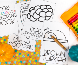 Thanksgiving Alphabet Coloring Pages