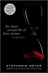 The Short Second Life of Bree Tanner by Stephenie Meyer Book Cover