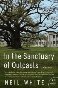 In the Sanctuary of Outcasts by Neil White Book Cover
