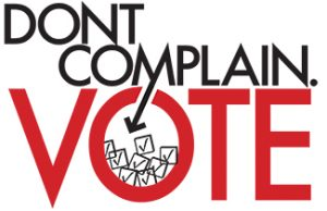 Don't Complain; Vote