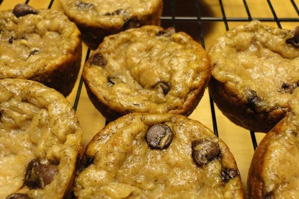 Gluten Free Vegan Chocolate Chip Banana Bread Muffins