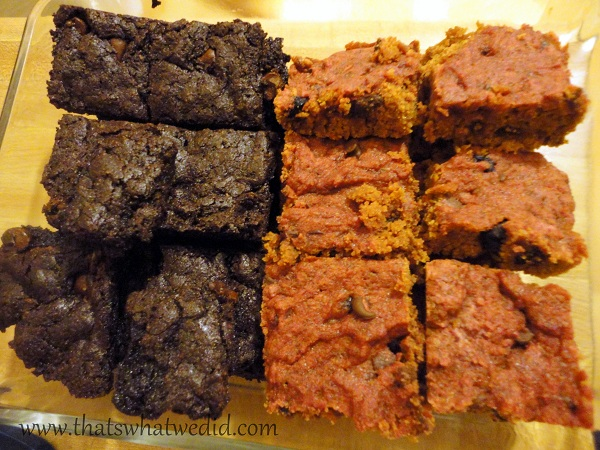 Blondies and Brownies (or are they Auburns?)