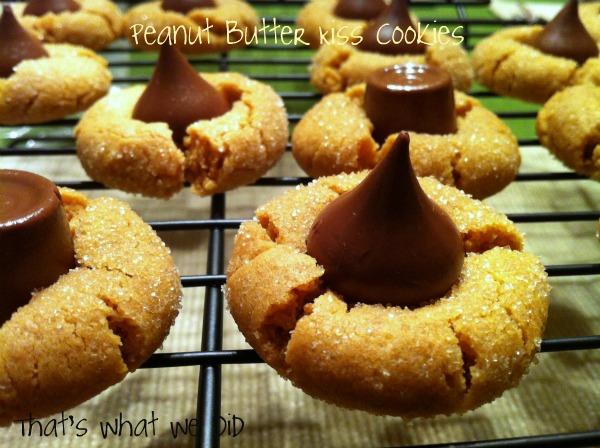 Gluten-Free Peanut Butter Kiss Cookie Goodness