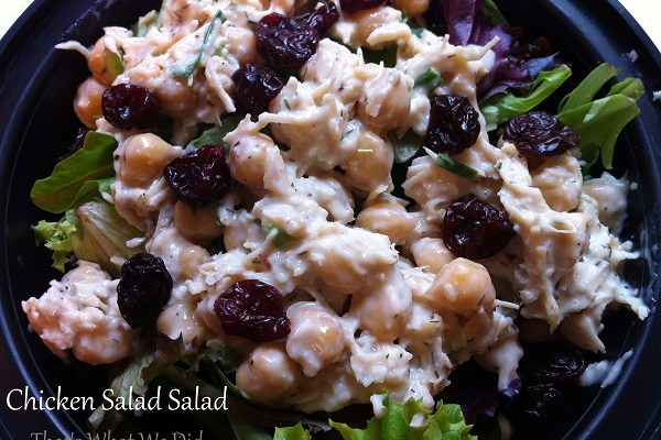 Dilly Chicken Salad Salad