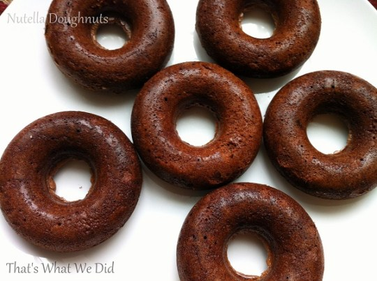 Gluten free Nutella Doughnuts