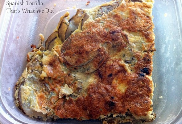 Gluten Free Spanish Tortilla