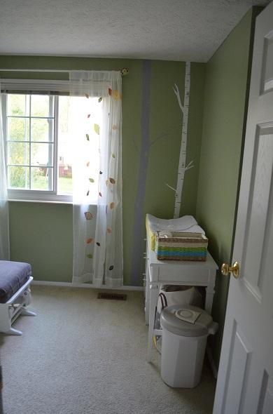 nursery from door