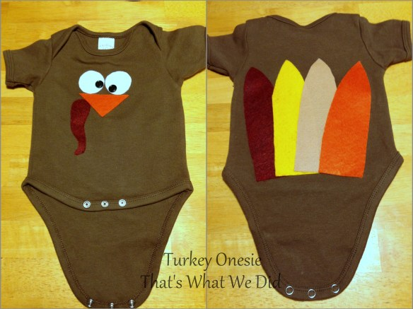 turkey onesie
