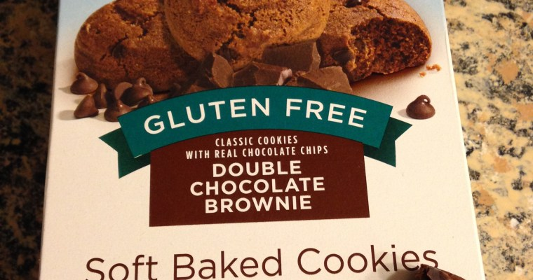 Live G Free Double Chocolate Brownie Cookies