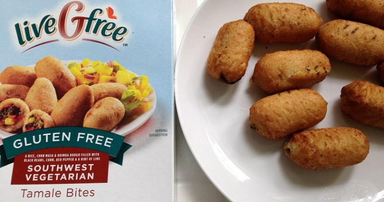 liveGfree Southwest Vegetarian Tamale Bites Review