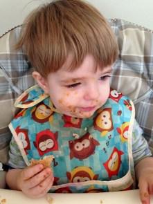 messy eating