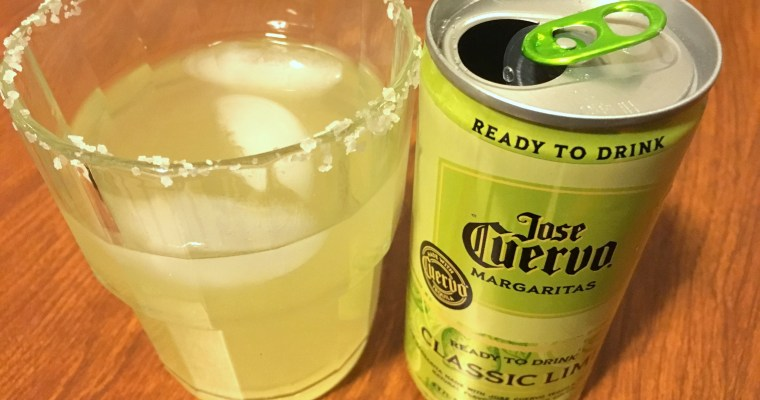 Review: Jose Cuervo Margaritas in a can