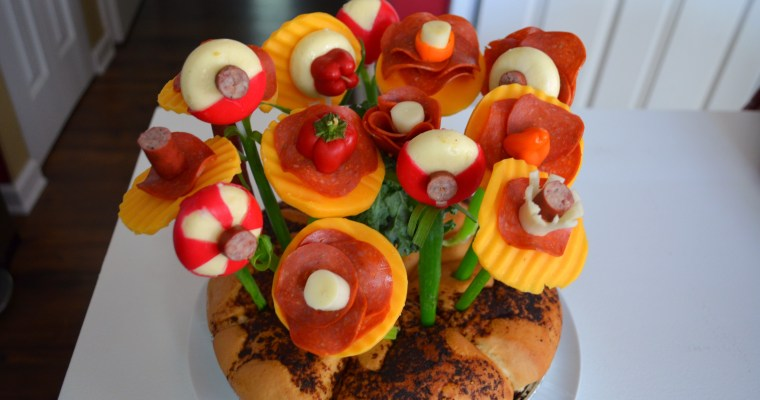 Meat and Cheese Bouquet