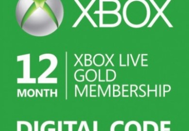 Xbox Live 12 Month Gold Membership Amazon