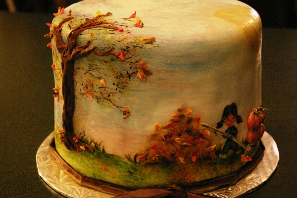 Hand Painted Cake Ideas