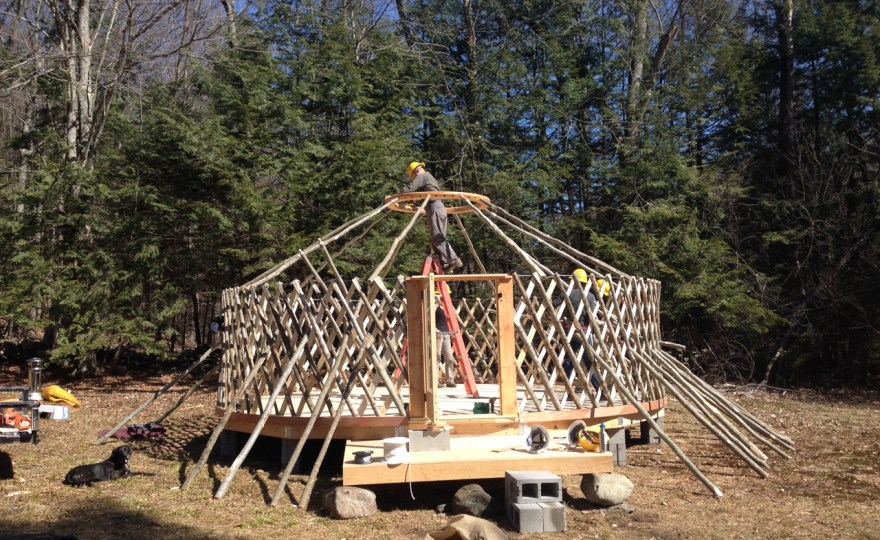 Yurt Raising Day: Unfurling the Dream