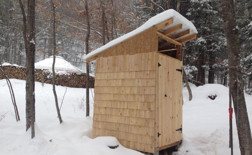 Yurt Tasks Before Winter: A Post-Snow Update