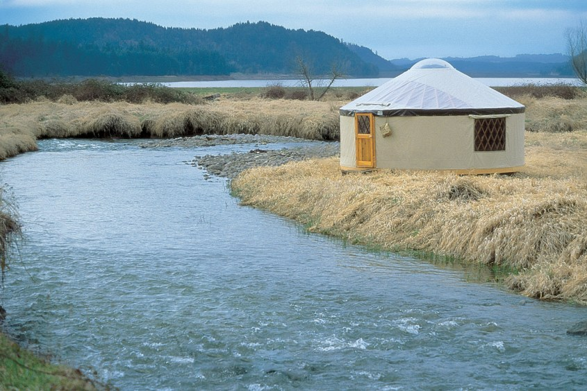 A 20' yurt from Pacific Yurts.