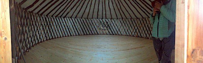 yurt tiny home tiny house