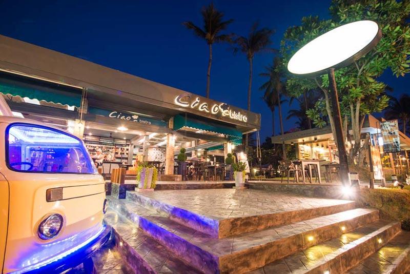 Ciao bistro, Italian restaurant karon beach phuket