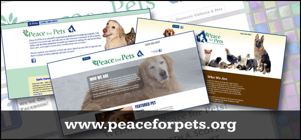 peace for pets website