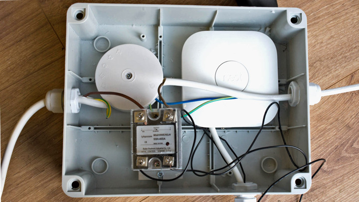 Electric Meter Wiring Heat How To Control Electric Radiators With A Nest Thermostat