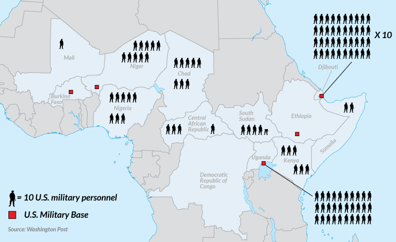 America's Involvement in Africa's God Wars in One Map   The