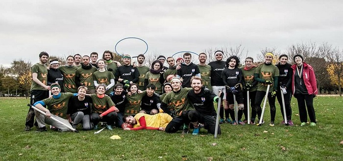 QUBQC and DDD together Qudditch