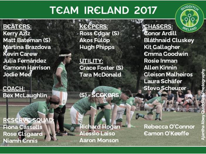 Team Ireland 2017