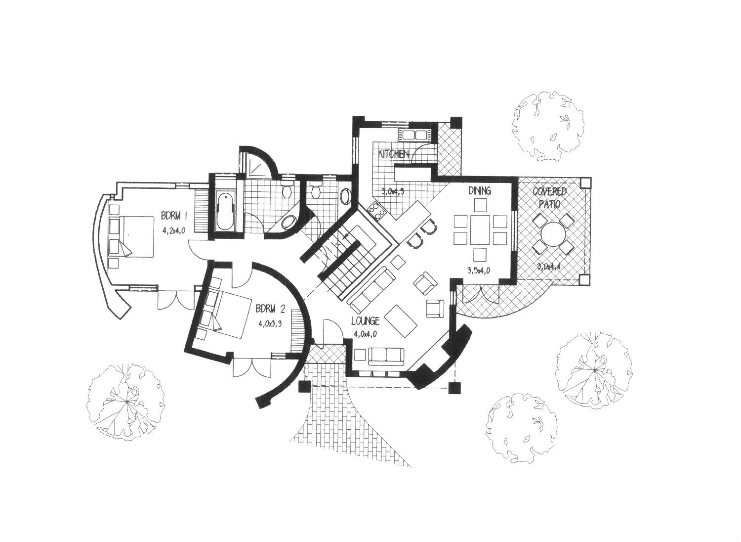 Thatched House Plans – The Architect