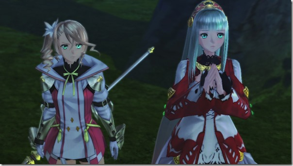 Tales of Zestiria - Lailah and Alisha